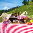 picnic on the grass - 60355602