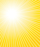 Beautiful sunburst background.