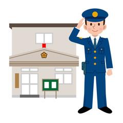 交番と警察官