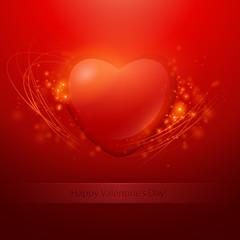 Valentine Bacground. Vector illustration