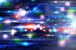 Futuristich technology background