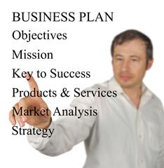 Presentation of  business plan