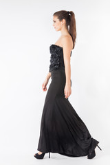 long elegant dress