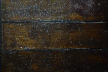 Dunkelbraune Holzdielen , Boden, Schiff