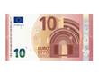 Neuer 10 Euro Schein ab September 2014 Vektor