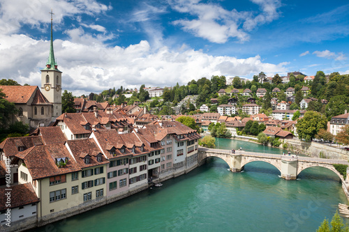 Panorama di Berna, Svizzera