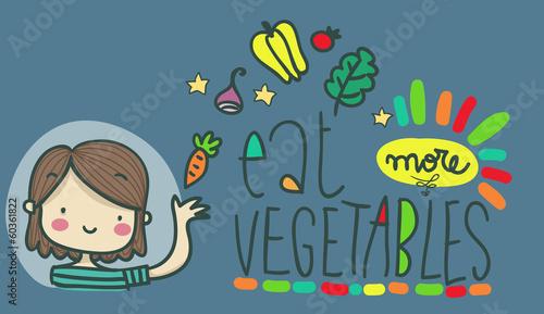 mangia più verdure