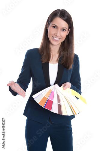 Farbauswahl - Innenarchitektur, Wandfarbe vom Fachgeschäft