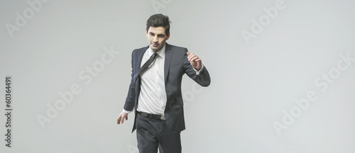 Portrait of successful young businessman