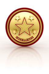 Five star excellence seal