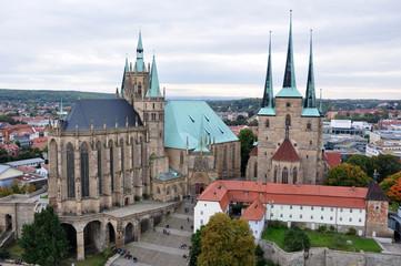 Erfurt - Dom und Severikirche