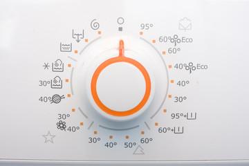 Washnig and drying machine knob