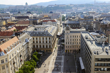View on Budapest from St. Stephen's Basilica. Hungary