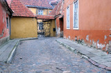 Medieval Lane in the Old Town of Tallinn