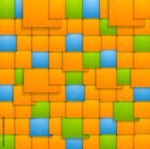 Abstract colorful vector tech backdrop