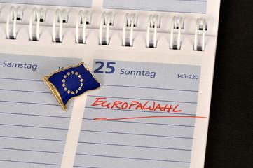Europawahl am 25.05.2014,  Europäische Union, Wahl