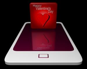Valentine's day e-card
