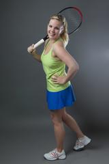 Tennis-Spielerin
