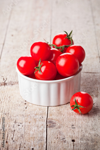 ripe tomatoes in bowl