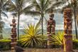Leinwanddruck Bild - Polynesian Tiki