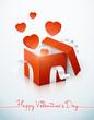 Постер, плакат: saint valentin cadeau