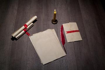 documentos escritos con pluma