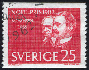 Theodor Mommsen and Sir Ronald Ross