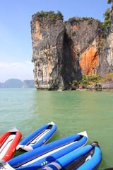 seascape Phangnga bay Thailand