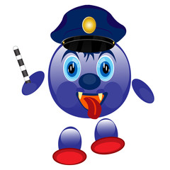 Police smaile