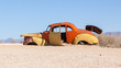 Abandoned car in the Namib Desert