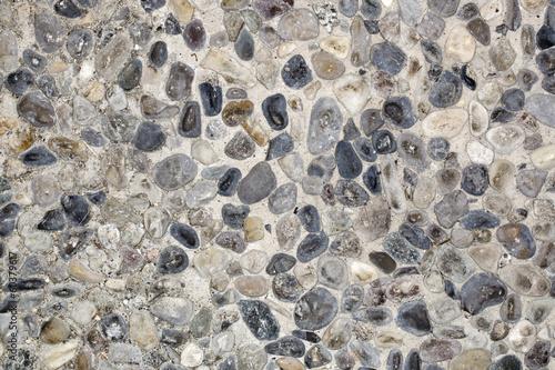Texture di sassi levigati