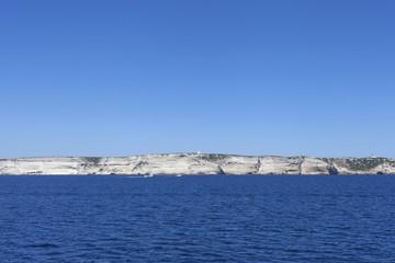 South coast of Corsica.