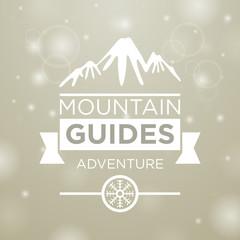 Mountain guides adventure