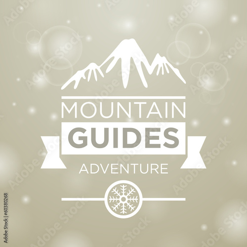 Mountain guides adventure