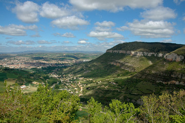 la ville; Millau, région Midi Pyrénées; 12