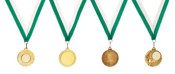 Copyspace metal medal