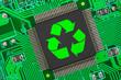 Leinwanddruck Bild - Elektronik-Recycling