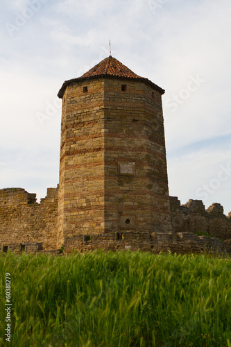 Old fortress in town Bilhorod-Dnistrovsk
