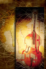 jazz bass background