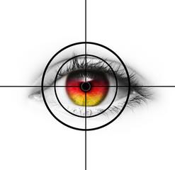 Auge im Brennpunkt