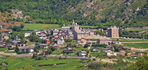 Leuk im Wallis - Loèche du Valais