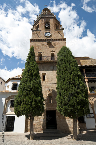 Santa Maria la Mayor Church, Ronda, Malaga, Andalusia, Spain
