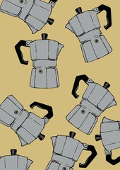 coffeepot pattern