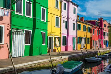Brightly Colored HOmes in Burano