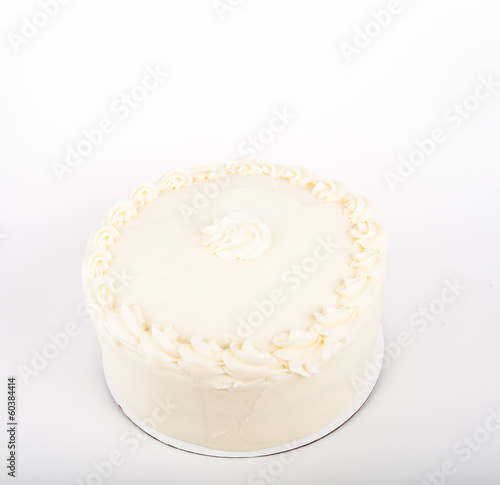 Cake with Cream Cheese Frosting