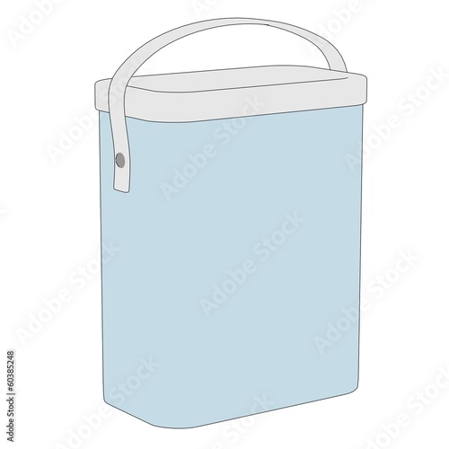 cartoon image of detergent box