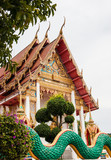 Buddhist temple in the south of Thailand