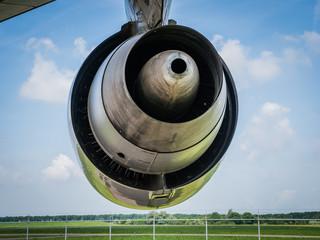 Engine of a jumbo jet