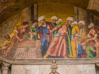 St. Mark's basilica mosaic in Venice