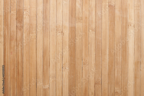 Background of bamboo strips beige.